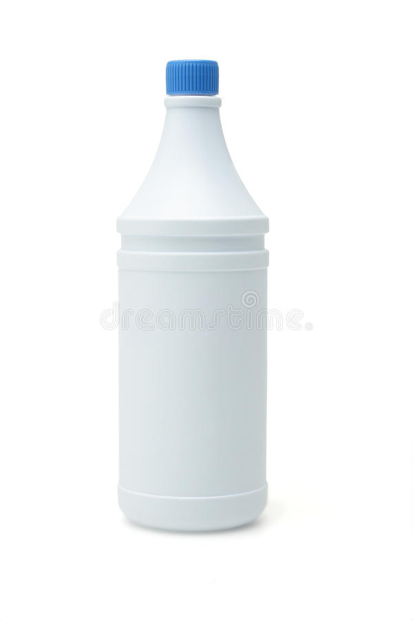 πλαστικό λευκό εμπορευ στοκ εικόνα