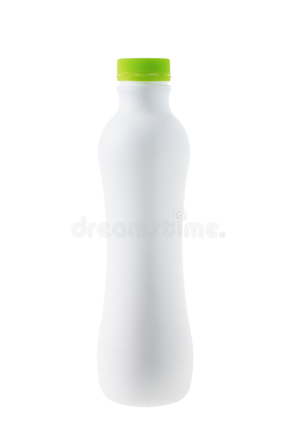 πλαστικό λευκό χυμού καρ& στοκ φωτογραφίες