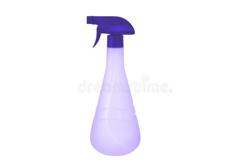 Πλαστικό μπουκάλι ψεκασμού που απομονώνεται στο άσπρο υπόβαθρο διανυσματική απεικόνιση