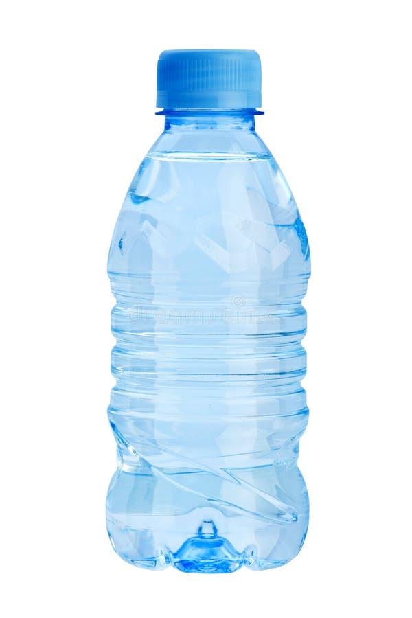 πλαστικό ύδωρ μπουκαλιών στοκ εικόνα