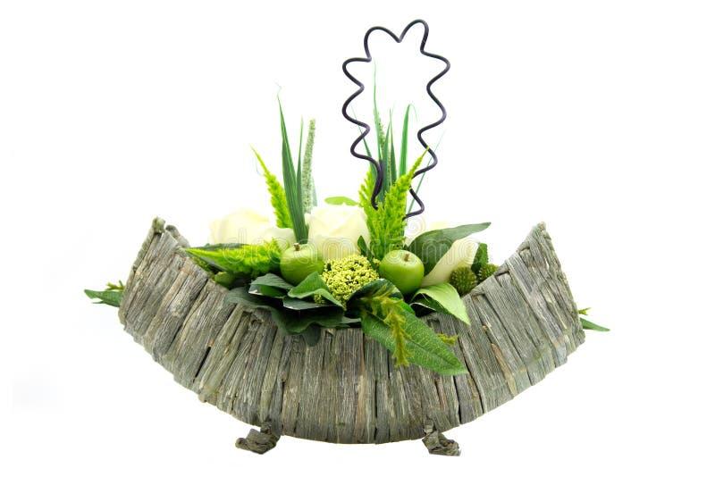 πλαστό κομμάτι λουλουδ& στοκ εικόνες
