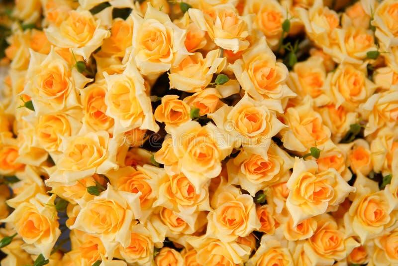 Πλαστό λουλούδι και Floral υπόβαθρο στοκ φωτογραφίες