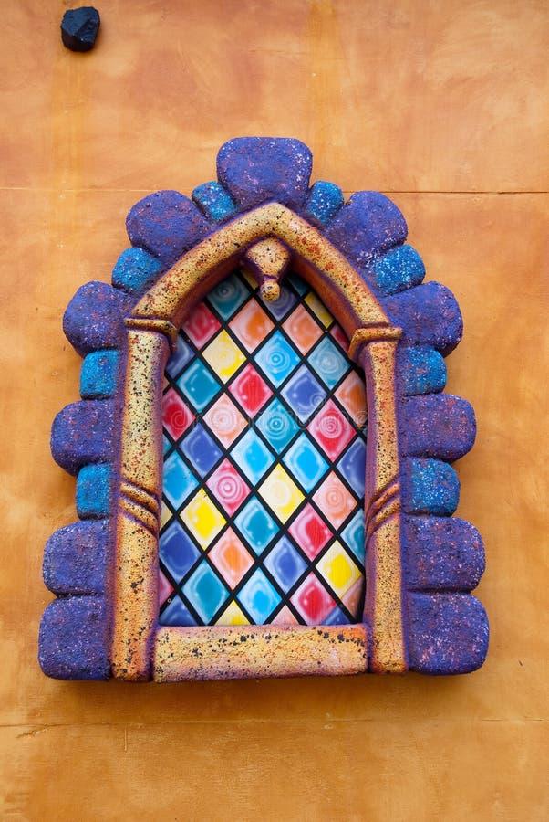 πλαστό παράθυρο στοκ φωτογραφία με δικαίωμα ελεύθερης χρήσης