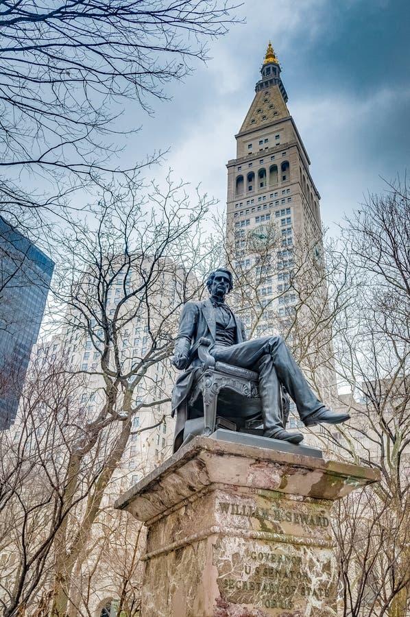 Πλατεία Μάντισον στη Νέα Υόρκη, Ηνωμένες Πολιτείες στοκ εικόνες