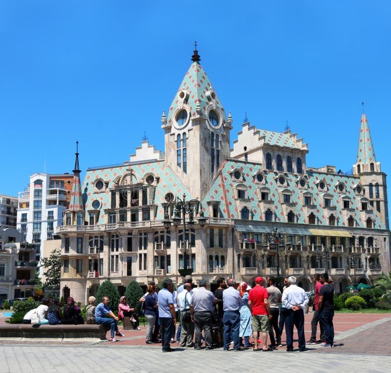 Πλατεία της Ευρώπης σε Batumi, Γεωργία στοκ φωτογραφία με δικαίωμα ελεύθερης χρήσης