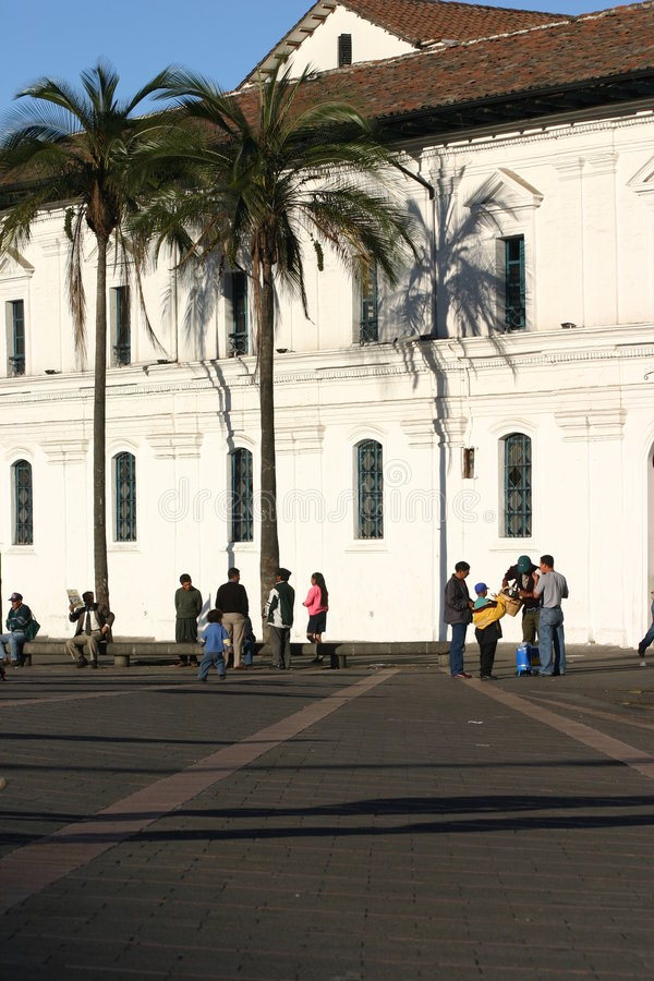 πλατεία του Κουίτο στοκ εικόνες