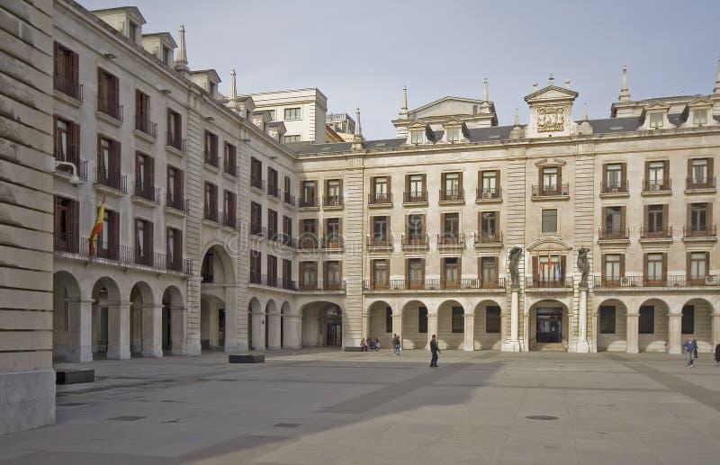 πλατεία του σαντάντερ Ισπανία στοκ εικόνες