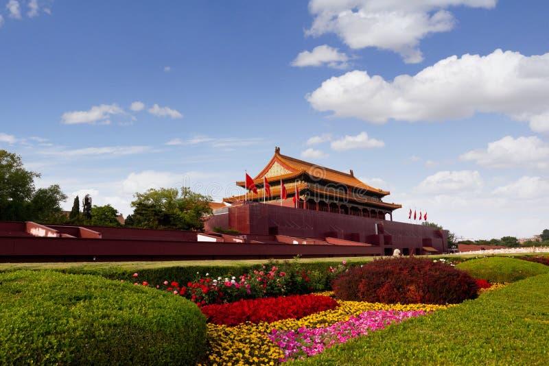 Πλατεία Tiananmen, Πεκίνο, Κίνα στοκ φωτογραφίες με δικαίωμα ελεύθερης χρήσης