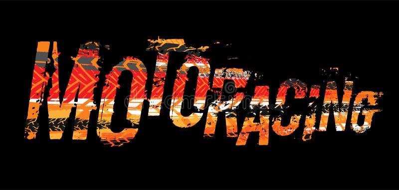 Πλαϊνή εγγραφή moto grunge ελεύθερη απεικόνιση δικαιώματος
