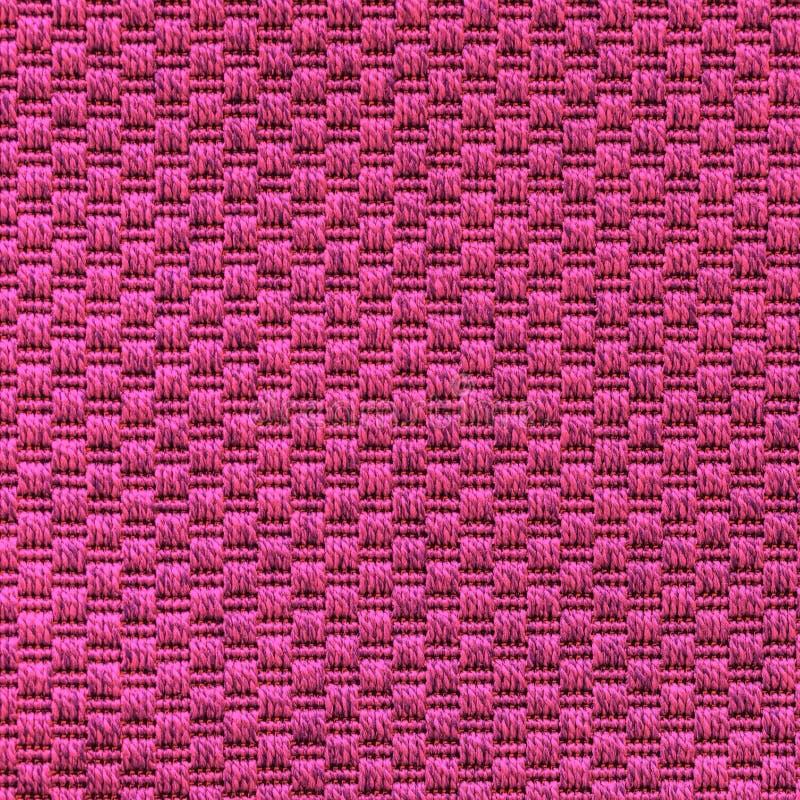 Πλεκτή purl υφασμάτων σύσταση βελονιών του μπεζ μίγματος στοκ εικόνα