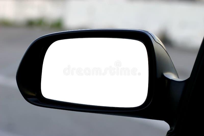 πλευρά μονοπατιών αριστερών καθρεφτών ψαλιδίσματος στοκ εικόνα