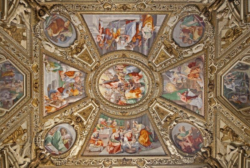 πλευρά santa της Μαρίας Ρώμη παρεκκλησιών βασιλικών maggiore στοκ φωτογραφία με δικαίωμα ελεύθερης χρήσης