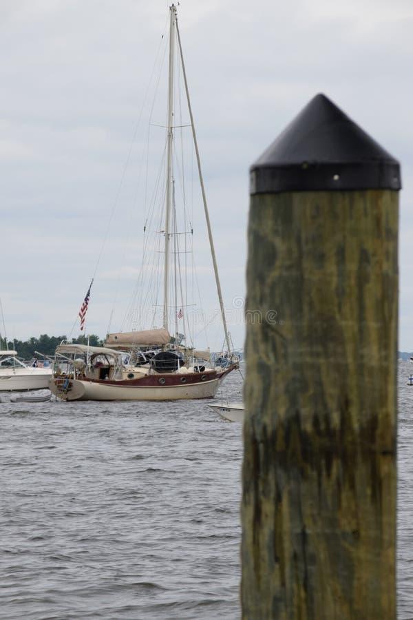 Πλεύστε το Chesapeake στοκ φωτογραφία