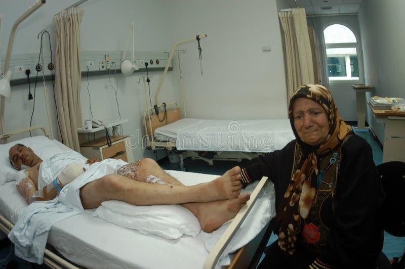 πληγωμένος πολιτών στοκ φωτογραφία με δικαίωμα ελεύθερης χρήσης