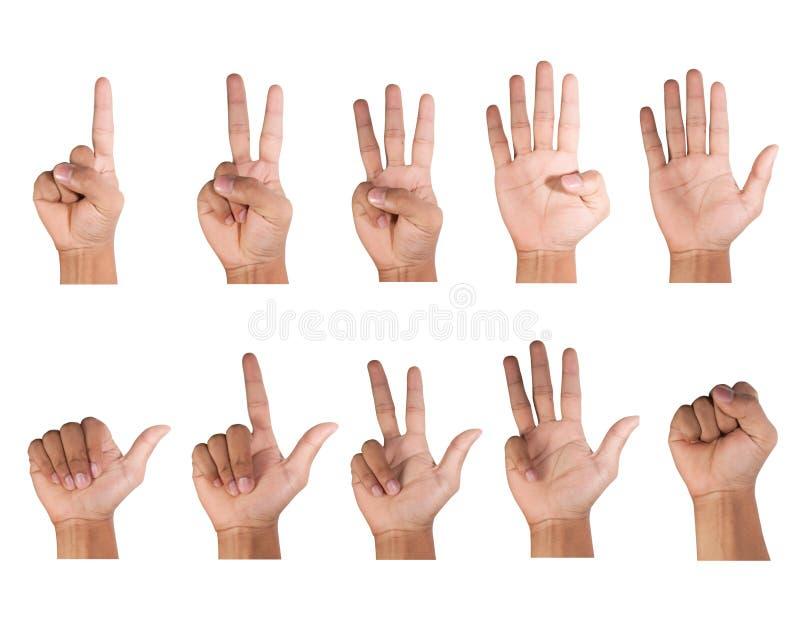 Πληθυσμός δάχτυλων στοκ εικόνες