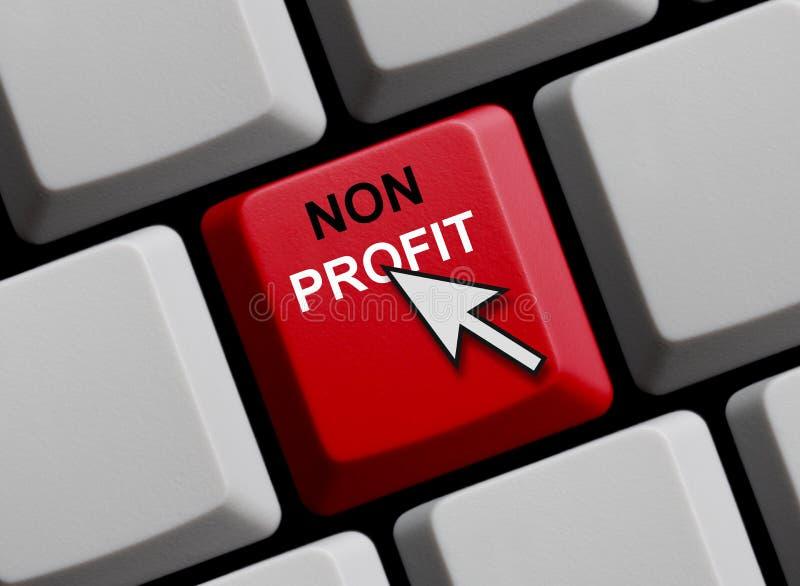 Πληκτρολόγιο υπολογιστών: Μη κέρδος στοκ φωτογραφία με δικαίωμα ελεύθερης χρήσης
