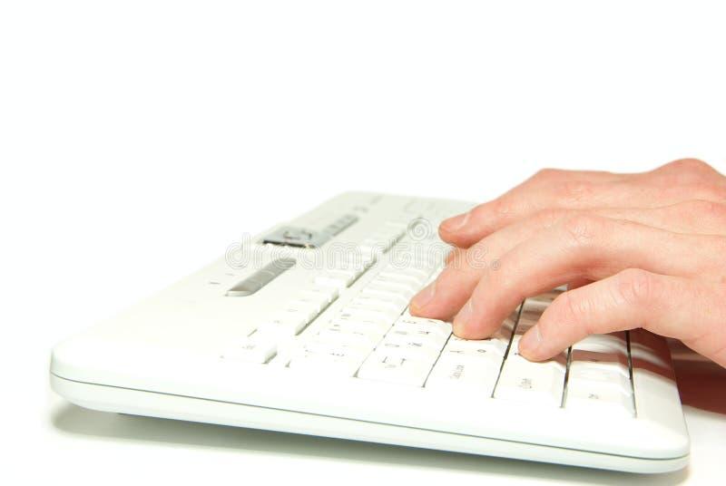 πληκτρολόγιο υπολογιστών στοκ φωτογραφία με δικαίωμα ελεύθερης χρήσης