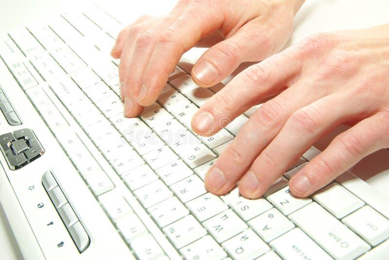 πληκτρολόγιο υπολογιστών στοκ εικόνα
