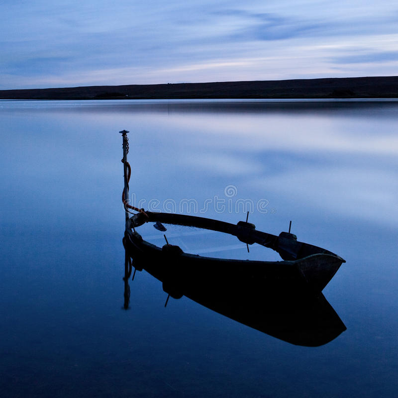 πλημμυρισμένη στόλος δεξ&alp στοκ εικόνα