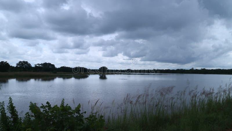 Πλημμυρισμένο φράγμα στοκ φωτογραφίες με δικαίωμα ελεύθερης χρήσης