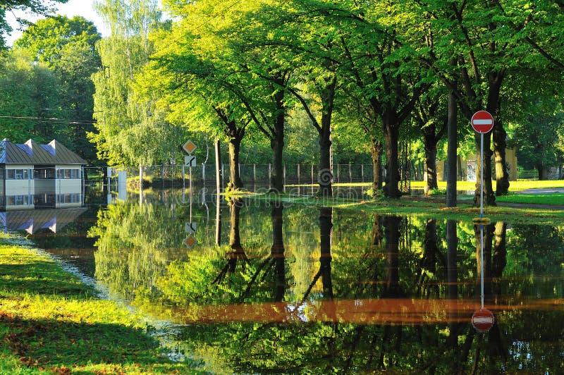 Πλημμύρα στοκ εικόνα με δικαίωμα ελεύθερης χρήσης
