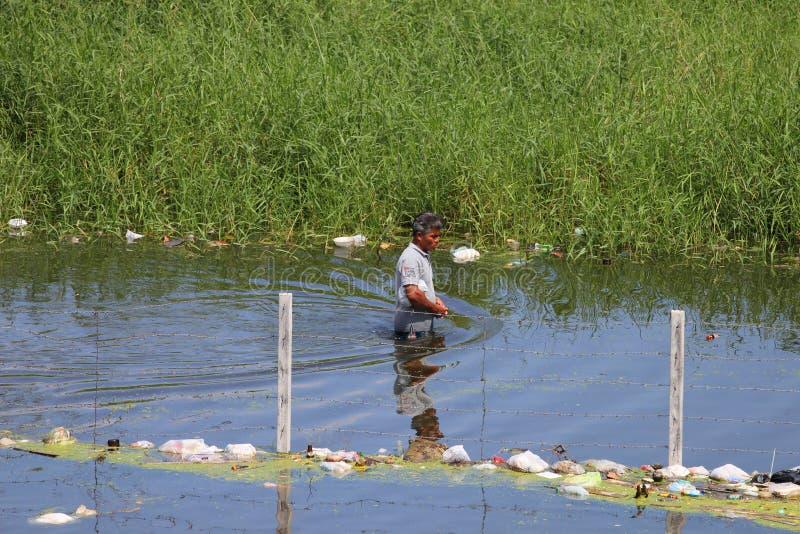 πλημμύρες Ταϊλάνδη στοκ εικόνα