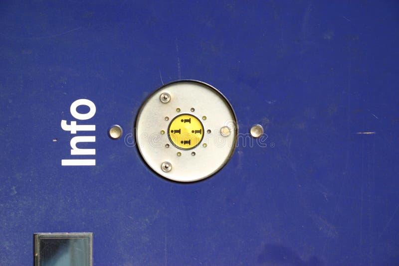πληροφορίες κουμπιών Στοκ εικόνες με δικαίωμα ελεύθερης χρήσης
