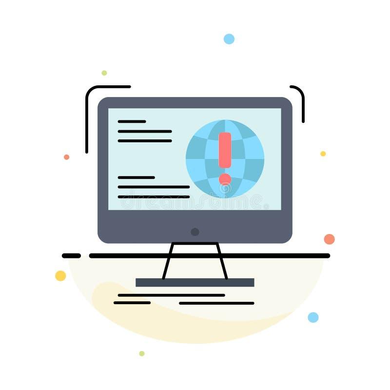 πληροφορίες, περιεχόμενο, ανάπτυξη, ιστοχώρος, επίπεδο διάνυσμα εικονιδίων χρώματος Ιστού απεικόνιση αποθεμάτων