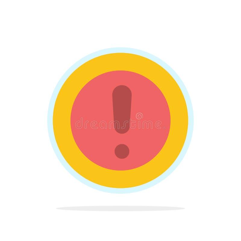 Πληροφορίες, Σημείωση, Ερώτηση, Υποστήριξη αφηρημένου εικονιδίου χρώματος επιπέδου φόντου κύκλου ελεύθερη απεικόνιση δικαιώματος