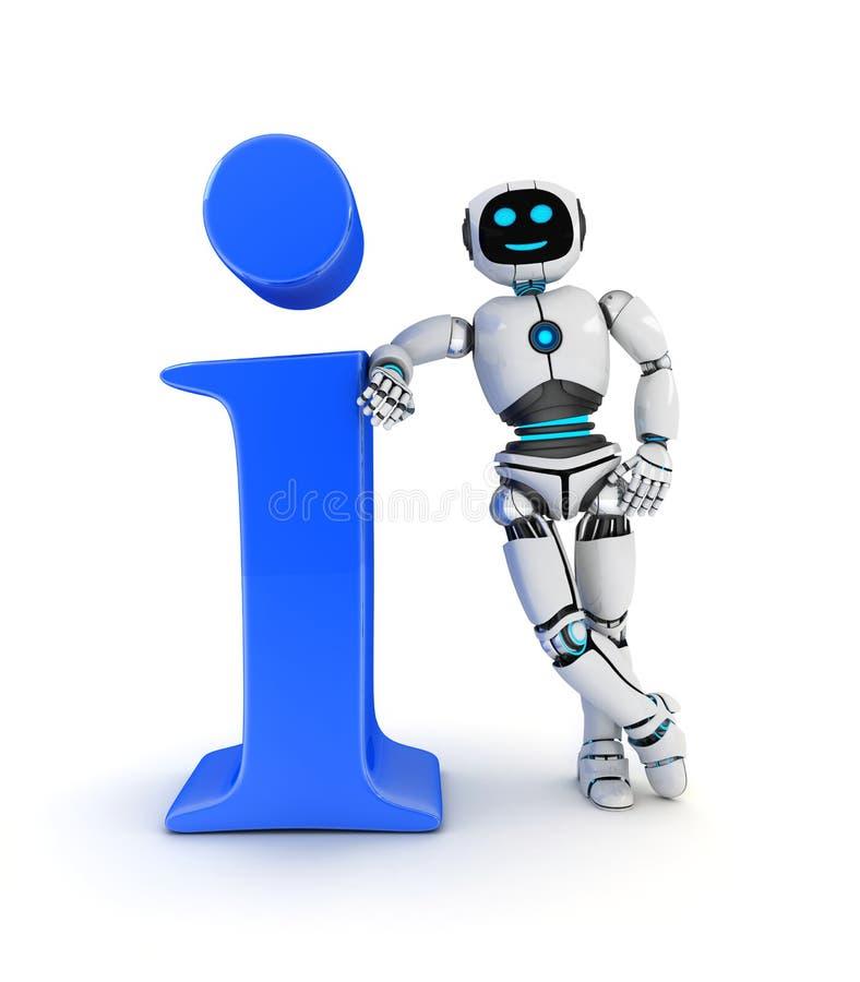 Πληροφορίες AI και συμβόλων απεικόνιση αποθεμάτων