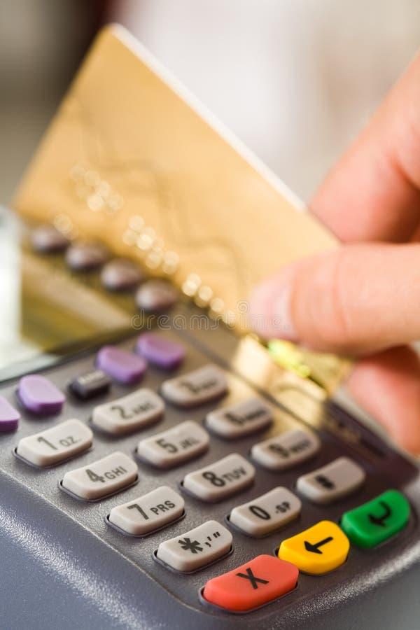 πληρωμή αγαθών στοκ εικόνα με δικαίωμα ελεύθερης χρήσης
