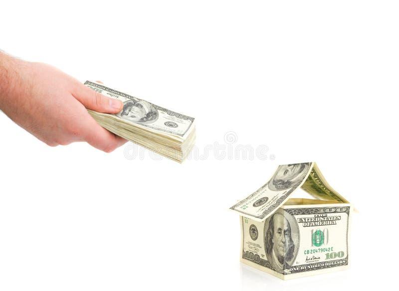 πληρωμή ατόμων μετρητών στοκ εικόνα