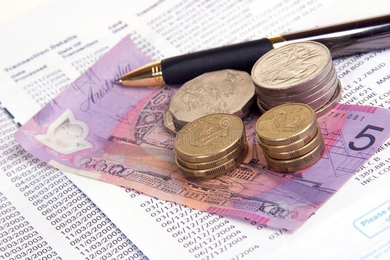 Download πληρωμή λογαριασμών στοκ εικόνες. εικόνα από χρήματα, αυστραλοί - 95818