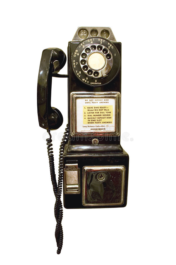 πληρώστε τον τηλεφωνικό τ&rh στοκ φωτογραφίες