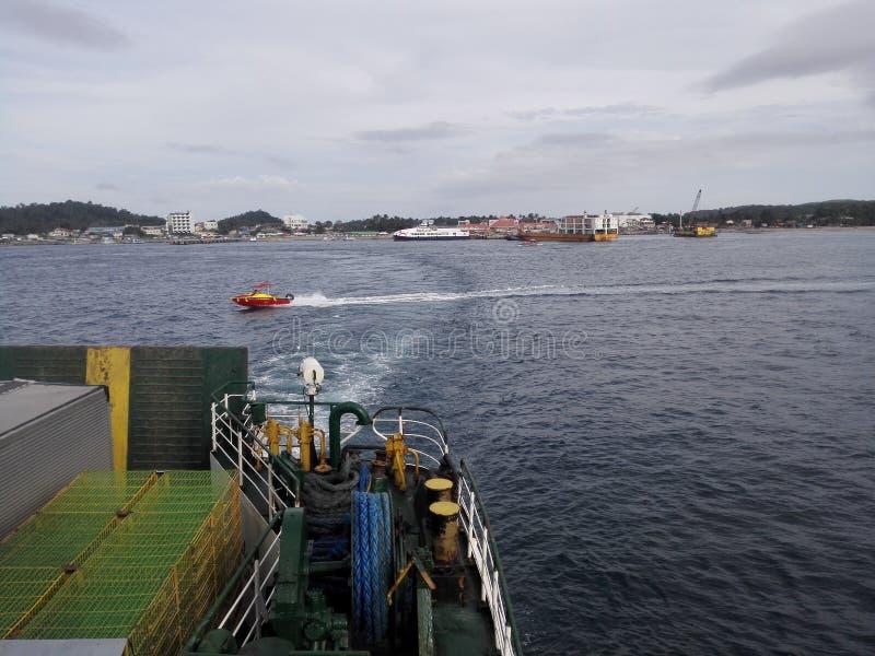 Πλοίο Inter Island στοκ φωτογραφία