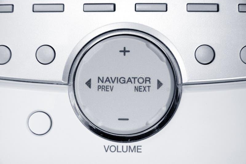 πλοηγός κουμπιών στοκ φωτογραφίες με δικαίωμα ελεύθερης χρήσης