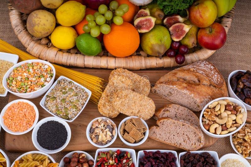 Πλούσια σε ίνες τρόφιμα στοκ φωτογραφία με δικαίωμα ελεύθερης χρήσης
