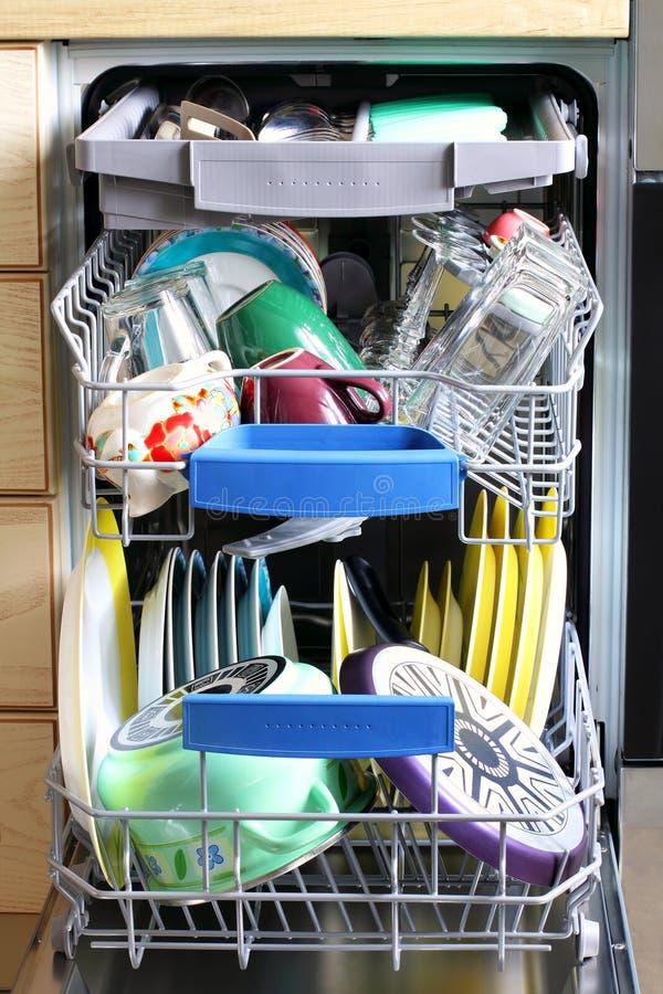 Πλυντήριο πιάτων κουζινών στοκ φωτογραφία με δικαίωμα ελεύθερης χρήσης