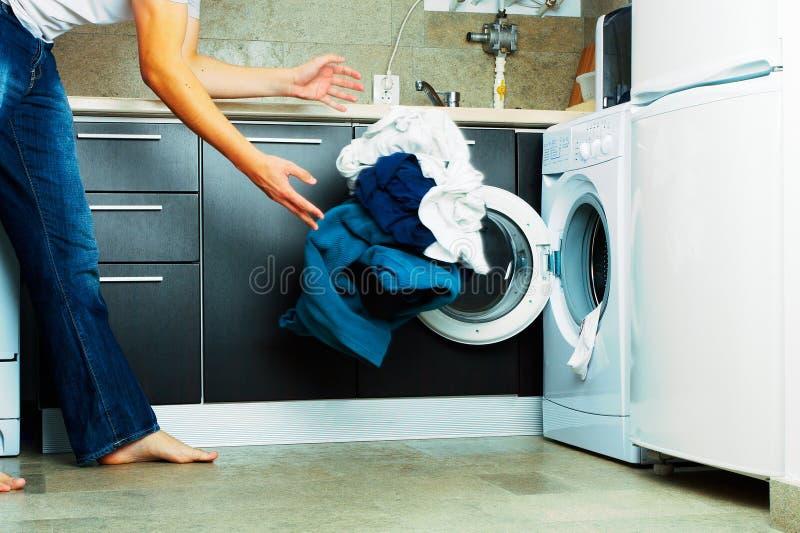 πλυντήριο στοκ εικόνα με δικαίωμα ελεύθερης χρήσης