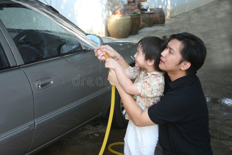 πλύση ατόμων κατσικιών αυτ&om στοκ εικόνες