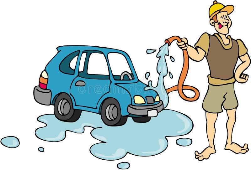 πλύσιμο αυτοκινήτων απεικόνιση αποθεμάτων