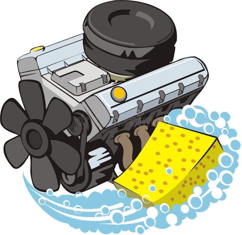 πλύσιμο μηχανών ελεύθερη απεικόνιση δικαιώματος