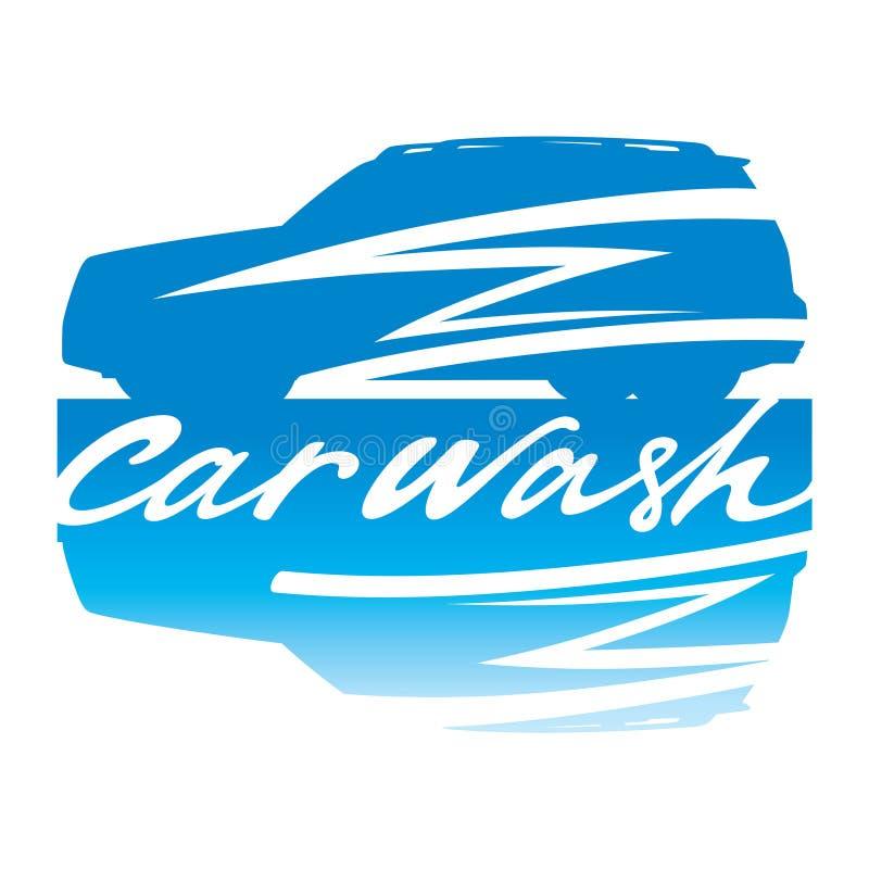 πλύσιμο σημαδιών αυτοκινή ελεύθερη απεικόνιση δικαιώματος