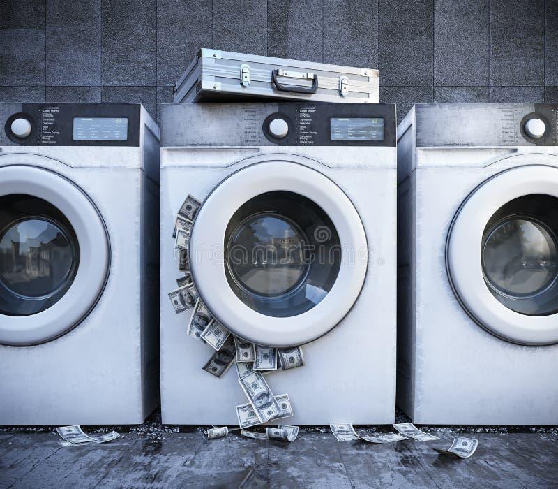 Πλύσιμο της κινηματογράφησης σε πρώτο πλάνο έννοιας επιχειρησιακού υποβάθρου χρημάτων στοκ εικόνα με δικαίωμα ελεύθερης χρήσης