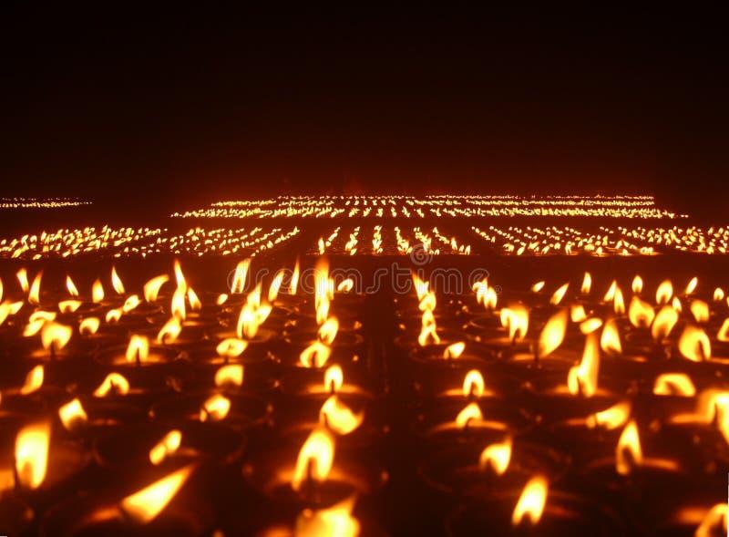 πνεύμα κεριών στοκ φωτογραφία με δικαίωμα ελεύθερης χρήσης