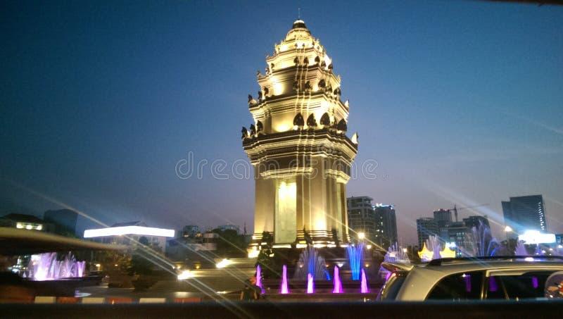 Πνομ Πενχ στοκ εικόνα