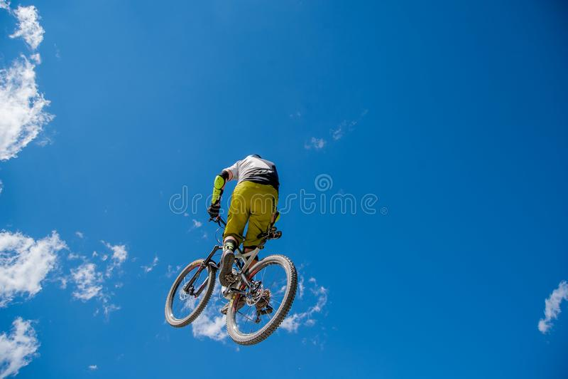 Ποδήλατο άλματος στοκ φωτογραφίες