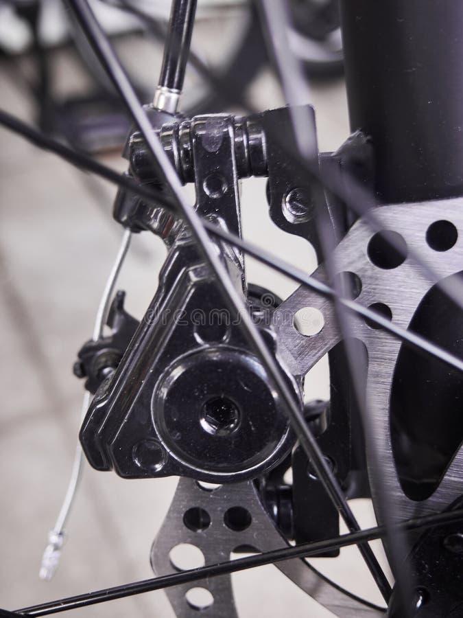 Ποδήλατο ανταλλακτικά και εξαρτήματα Αθλητική μεταφορά στοκ φωτογραφία με δικαίωμα ελεύθερης χρήσης