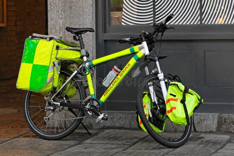 ποδήλατο ασθενοφόρων στοκ εικόνα με δικαίωμα ελεύθερης χρήσης