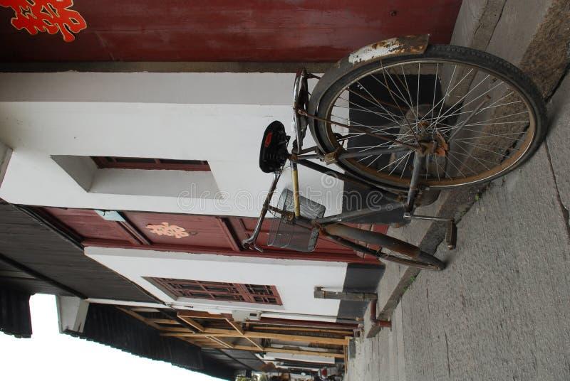 ποδήλατο Σαγγάη στοκ εικόνα με δικαίωμα ελεύθερης χρήσης